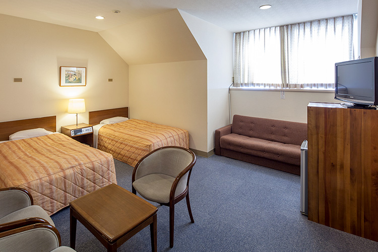 Our rooms in the Main Building offer a peaceful experience.