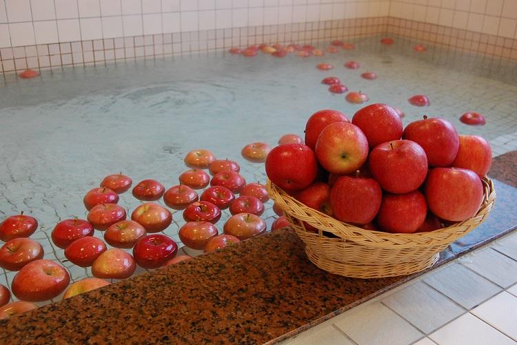 青森ワイナリーホテルの温泉